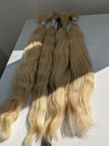blonde european hair from ukraine